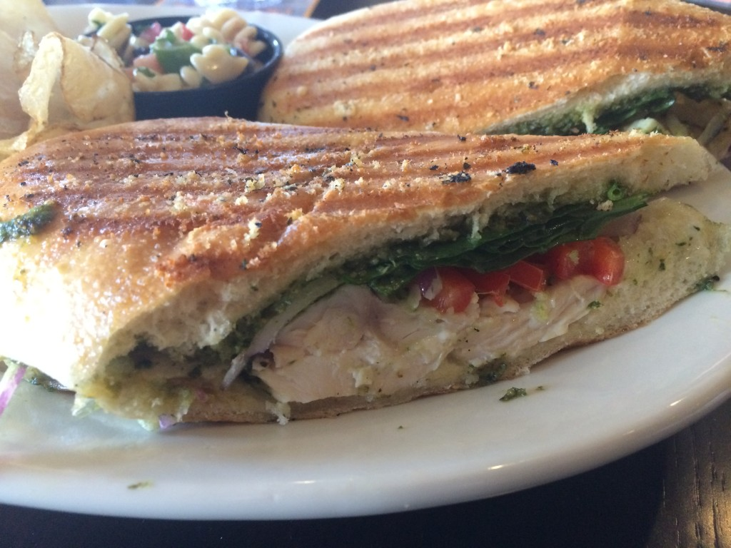 Selma's Chicken Pesto Sandwich