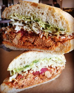 Sessions Chicken Tinga sandwich