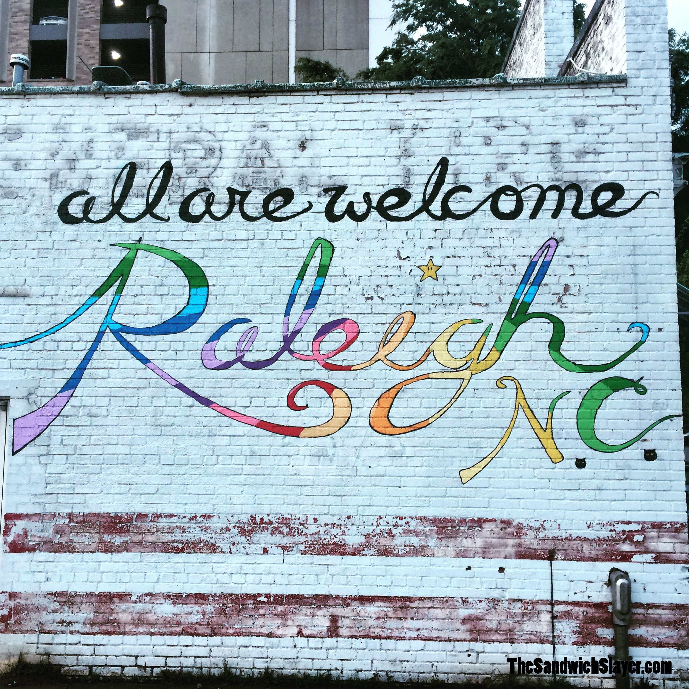 Vy Goes to Raleigh, North Carolina - The Sandwich Slayer