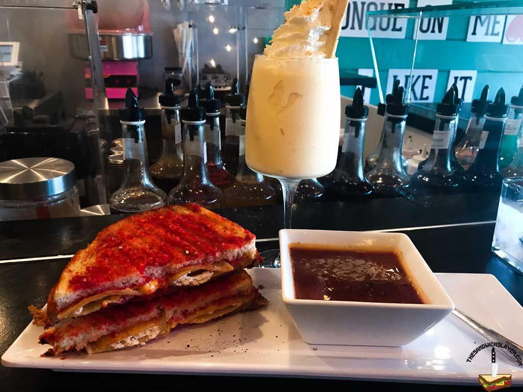 The Bankok Betty milkshake from The Straw