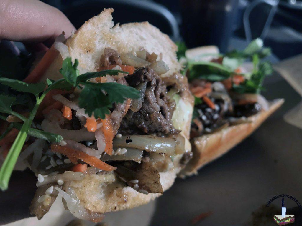 Nguyen's Kitchen sandwich