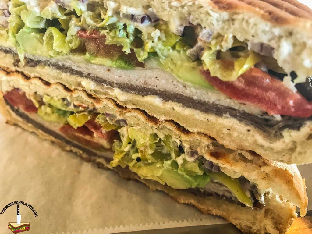 The Bostonian panini from Stefano's