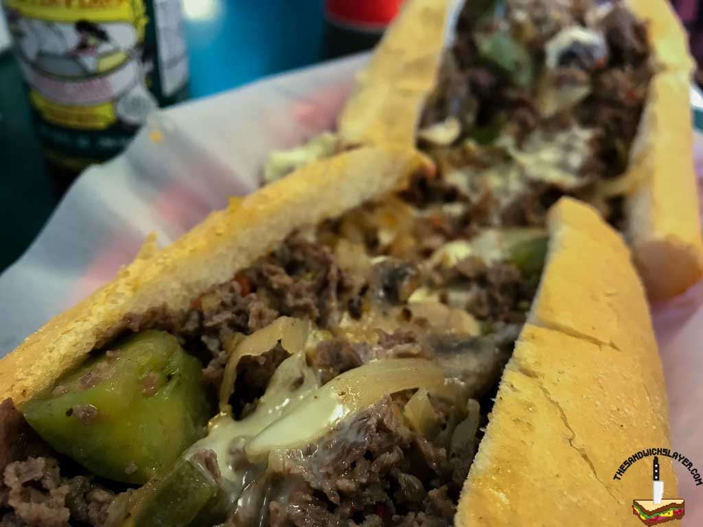 "John's Philly Grille ""Works"" Cheesesteak"