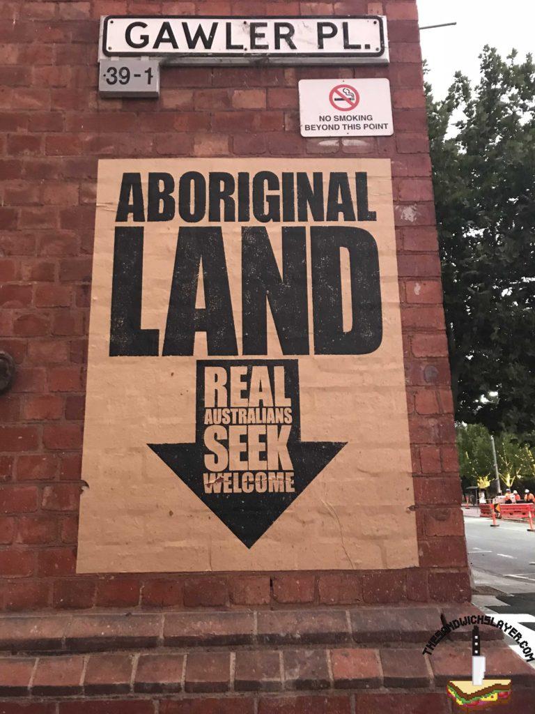 Adelaide Aboriginal land sand