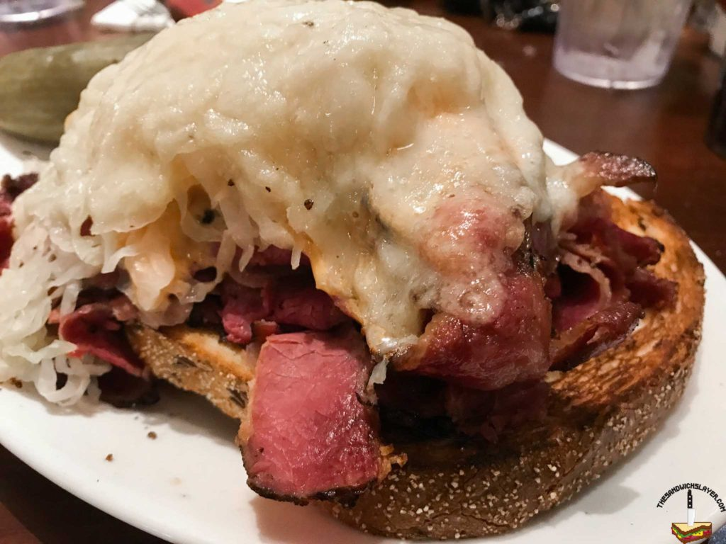 Carnegie Deli Open Faced Rueben