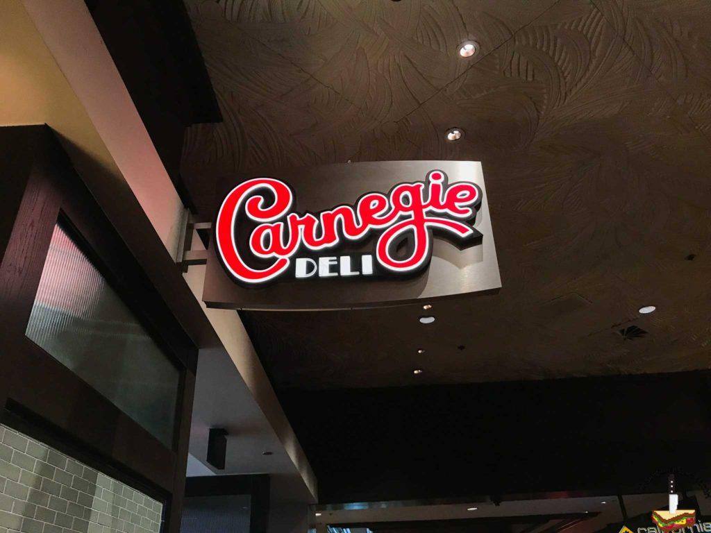 Carnegie Deli Sign