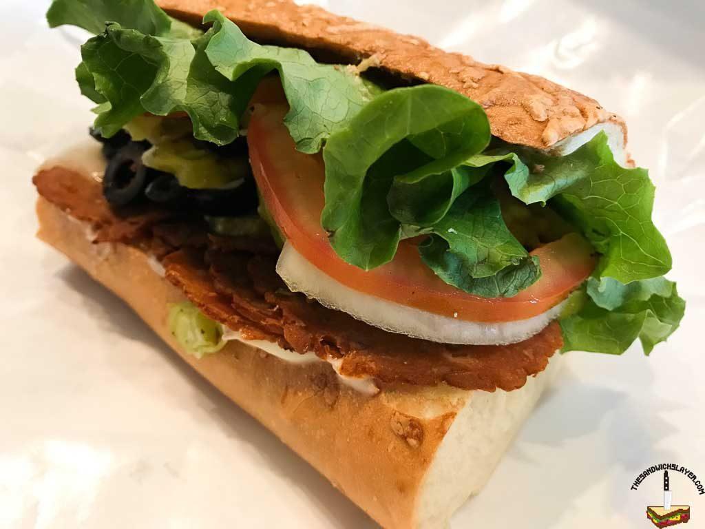 Eastside Deli veg sandwich