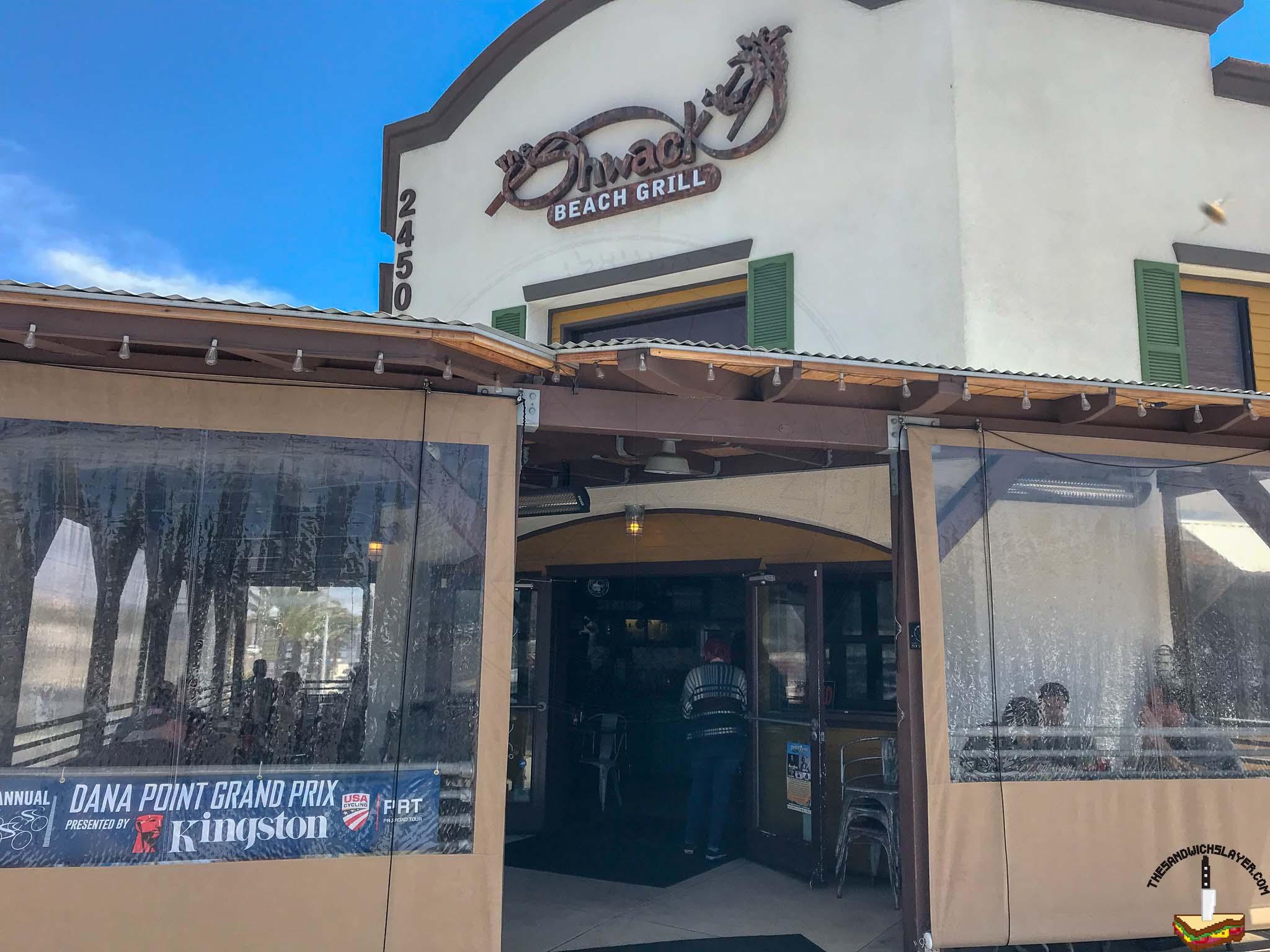 The Shwack, Dana Point CA - The Sandwich Slayer