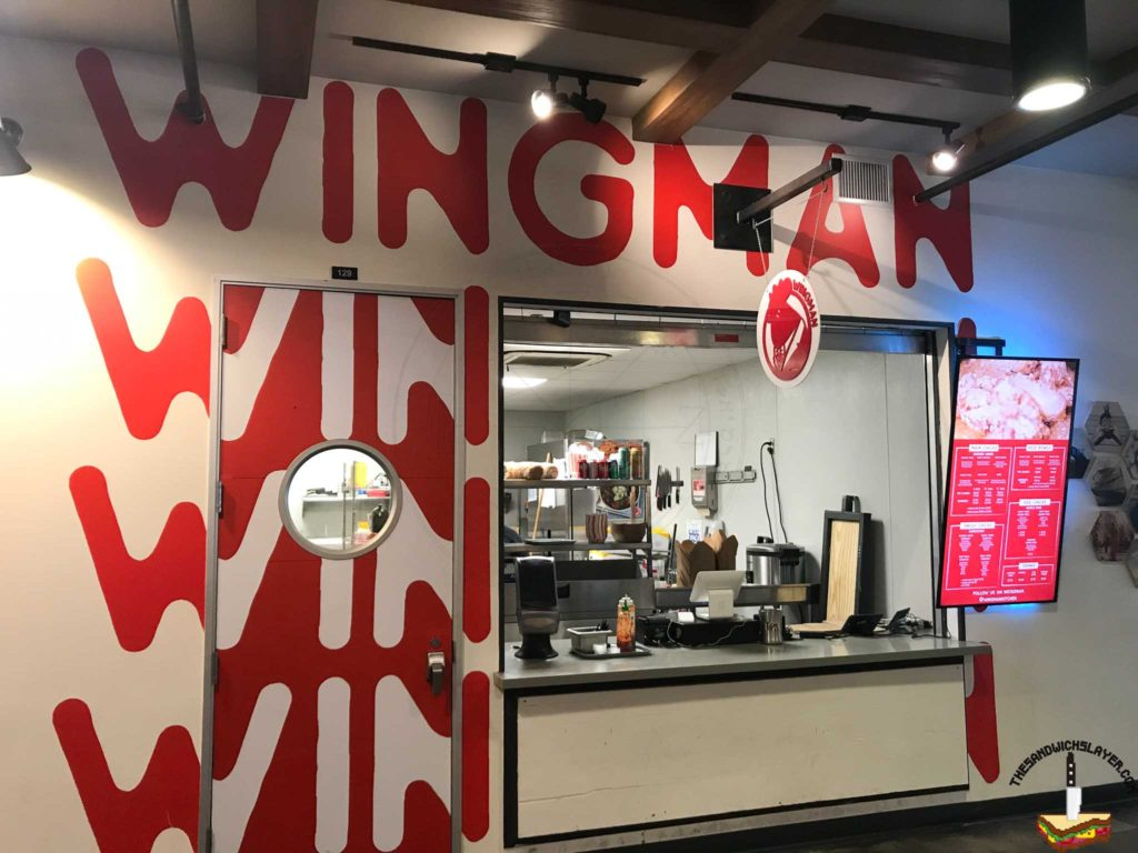 Wingman Kitchen Store Front