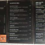 Deemer's Full menu