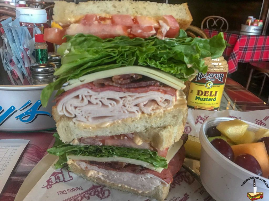 Tony's Original Fender Club Sandwich
