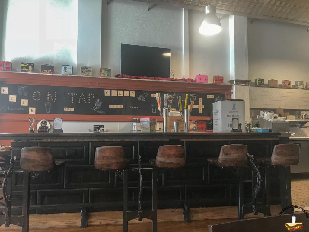 Black Market Bakery interior