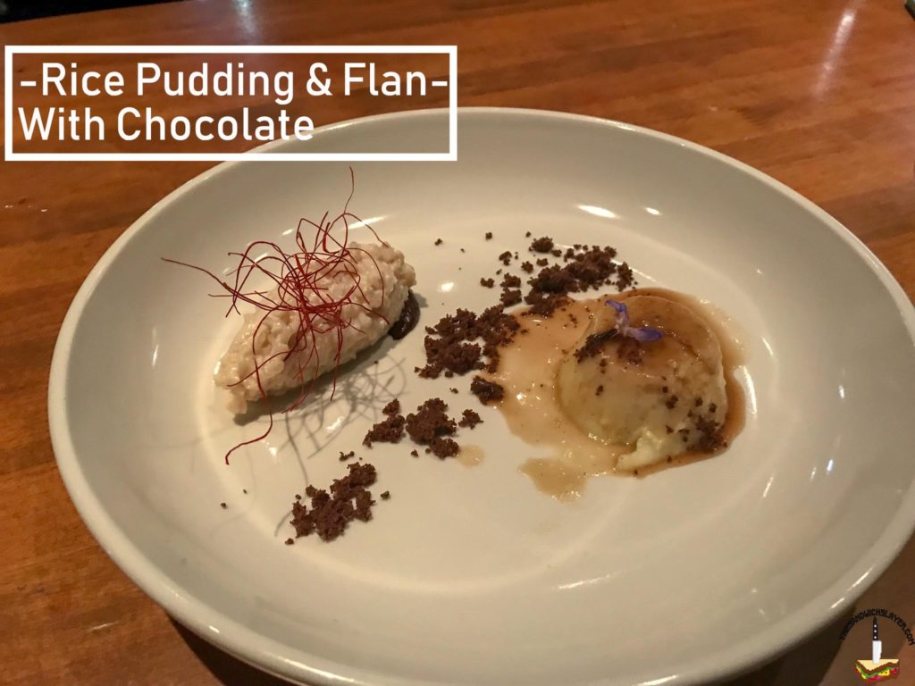 Rice Pudding and Flan