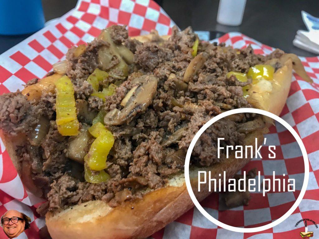 "Frank's Philadelphia ""Works"" cheeseteak"