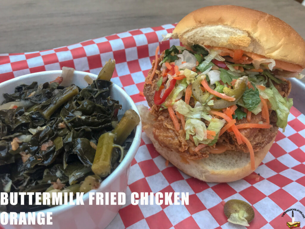 The Southern Samurai from Buttermilk Fried Chicken